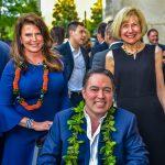 Tammy Wood, Derek Wood and Dr. Eva Feldman
